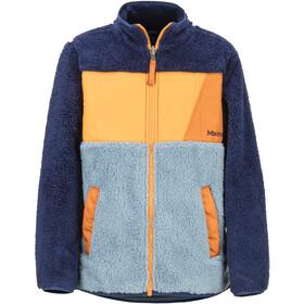 Marmot Roland Fleece Jacket Boys blue granite/arctic navy